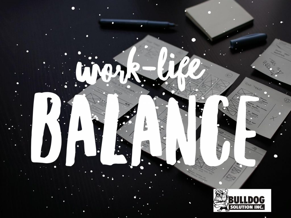 tips and tricks on work-life balance for parents and educators by Bulldog Solution